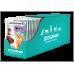 Полнорационный влажный корм ZOOGURMAN паучи для взрослых кошек с ягненком, «Ягненок» Чувствительное пищеварение. Кусочки в соусе, 85г