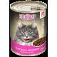Влажный корм для кошек Big Cat Sterilized «Телятина с кроликом», кусочки в желе, 350г