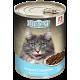 Влажный корм для кошек Big Cat «Нежная говядина», кусочки в желе, 350г