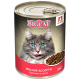 Влажный корм для кошек Big Cat «Мясное ассорти», кусочки в желе, 350г