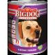 Влажный корм для собак БигДог (BigDog Grain line), Телятина с овощами, 850г