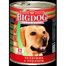 БигДог/Телятина с сердцем, 850г