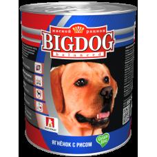 БигДог Grain line/Ягнёнок с рисом, 850г