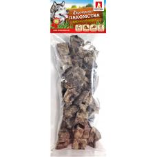 Фермерские лакомства/Легкое говяжье BIG темное 150г