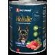 Влажный корм для собак ЗООГУРМАН «Холистик» (Holistic), Ягнёнок с рисом и овощами, 350г