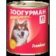 Влажный корм для собак ЗООГУРМАН – МЯСНОЙ РАЦИОН, Говядина, 750г