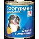 Влажный корм для собак ЗООГУРМАН – МЯСНОЙ РАЦИОН, Говядина с потрошками, 750г