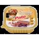 Влажный корм для собак СмоллиДог патэ (Smolly dog pate), Телятина с кроликом, 100г