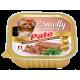 Влажный корм для собак СмоллиДог патэ (Smolly dog pate), Телятина с утиной печенью, 100г