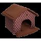 Лежак Ампир (45х40х45см) шоколадный