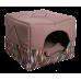 Лежак Домосед (45х45х45см) графит
