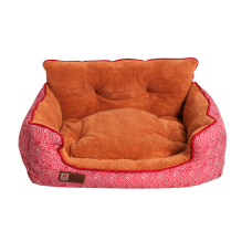 Лежак Престиж (55х50х25) розовый