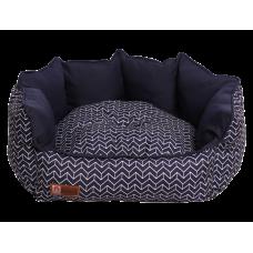 Лежак Прованс (60х50х30) синий