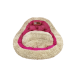Лежак Президент (45х45х20см) розовая фуксия