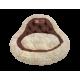 Лежак Президент (45х45х20см) шоколадный