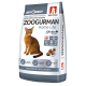 Полнорационный сухой корм для взрослых кошек Zoogurman Home Life, КурочкаChicken_1,5кг