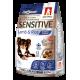Полнорационный сухой корм для взрослых собак мелких и средних пород Sensitive, Ягненок с рисом/Lamb&Rice, 1.2кг